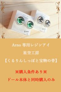【即納品】Arno専用 星空工房レジンアイ ※単品購入不可