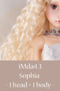 【受注品】iMda4.3 Sophia -1head + 1body-