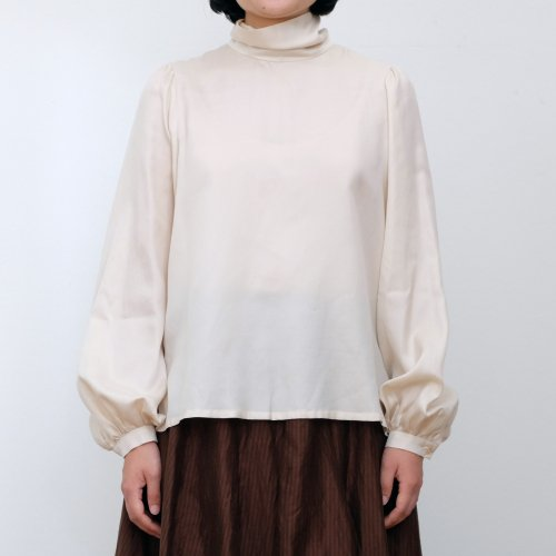 humoresque / highneck blowse puff 【IA2203】