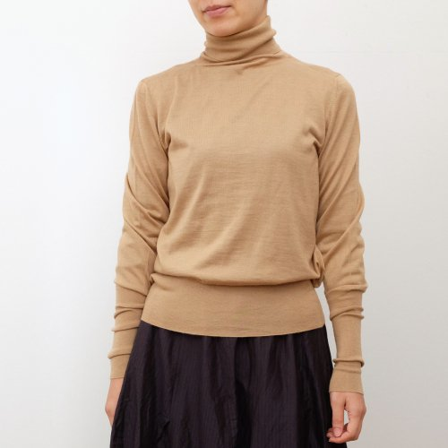humoresque / rib turtleneck 【HA0204】