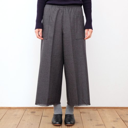 how to live / Easy Wide Pants DOMINIX WOOL Tasmania Blend