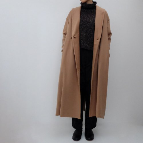 humoresque / shawl collar coat 【lA2502a】<img class='new_mark_img2' src='https://img.shop-pro.jp/img/new/icons6.gif' style='border:none;display:inline;margin:0px;padding:0px;width:auto;' />