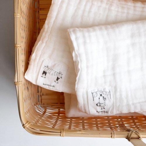 くるみの木 / 蚊帳織ハンカチ
