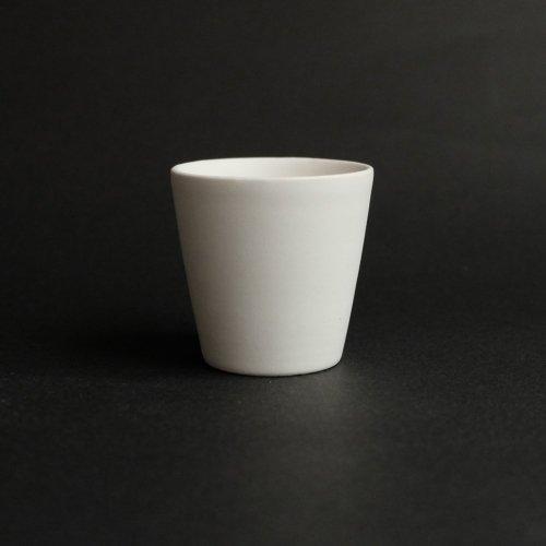 studio yamahon / 筒型茶杯 小・大 石灰釉