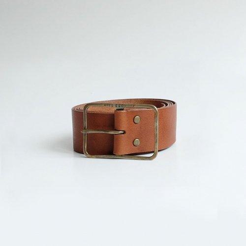ARTS & SCIENCE / Thin buckle belt  S 【0203AE0068074】M【0203AE0078074】