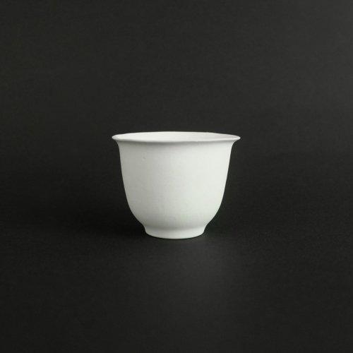 studio yamahon / 白釉茶杯