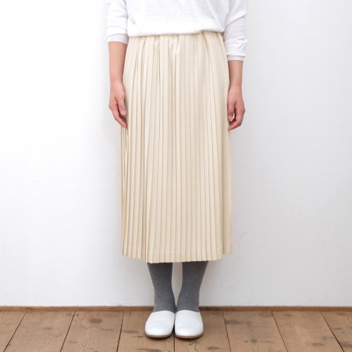 Charpentier de Vaisseau / Bennie Surge Narrow Long Skirt ナロープリーツロングスカート 【C003172PS217】<img class='new_mark_img2' src='https://img.shop-pro.jp/img/new/icons6.gif' style='border:none;display:inline;margin:0px;padding:0px;width:auto;' />