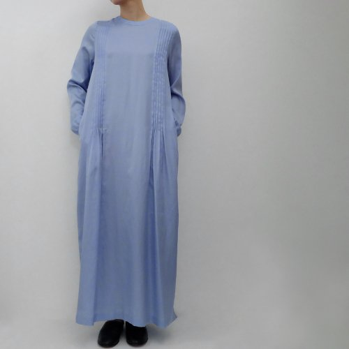 humoresque / long tuck dress【JA2104b】<img class='new_mark_img2' src='https://img.shop-pro.jp/img/new/icons6.gif' style='border:none;display:inline;margin:0px;padding:0px;width:auto;' />