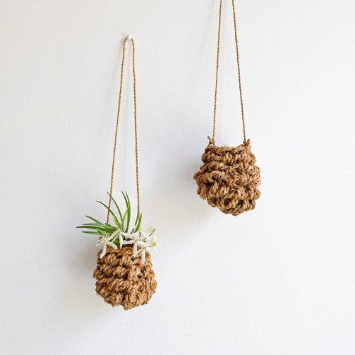 F/style / シナの縄の花かご