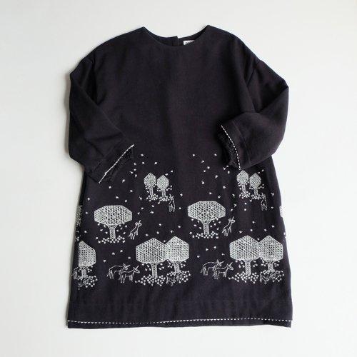 mina perhonen / mori no hoshi セレモニードレス 【ZA3309P】
