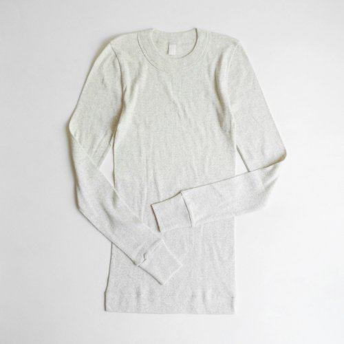 homspun / 40/1丸胴テレコ L/S PO カットソー 【212-6014】<img class='new_mark_img2' src='https://img.shop-pro.jp/img/new/icons6.gif' style='border:none;display:inline;margin:0px;padding:0px;width:auto;' />