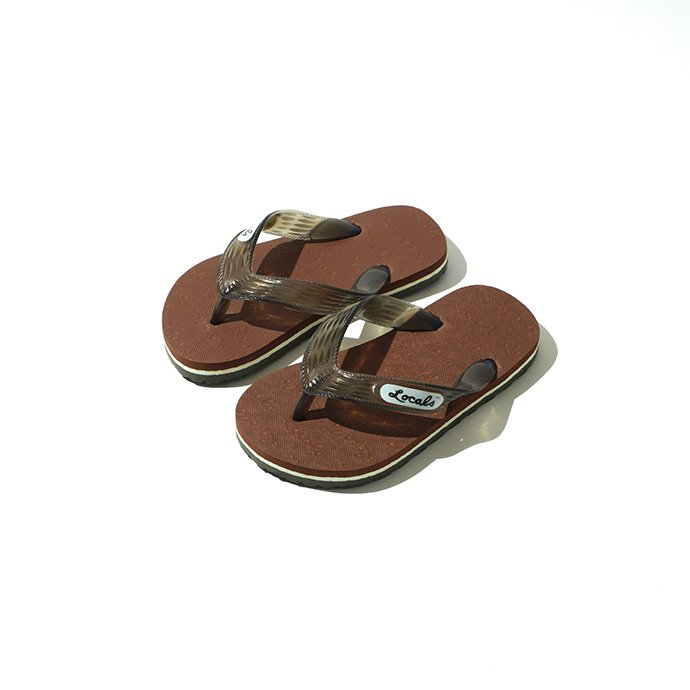 STRIPE SLIPPA(BROWN)
