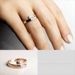 刻印 ダブルネーム ラップリング 14KGF / 14KRGF / S925 [Pretty Jewelry by idj] 海外受注