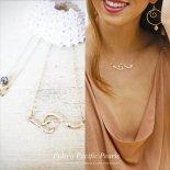 ミニ ノースショア ウェーブ ネックレス ゴールド [ Pukoa Pacific Pearls / ハワイ ] [海外受注]