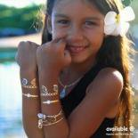 タトゥーシールA [サンライズシェル] ハワイ ネックレス ブレスレット アンクレット リング カフス