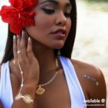 タトゥーシールC [シーシェルズ] ハワイ ネックレス ブレスレット アンクレット リング カフス