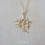 コーラル(サンゴ) ブランチ ネックレス 18inch  [sea star Jewelry]
