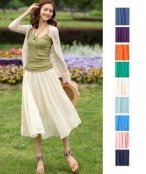 *9色*3size*ロングスカートマキシスカートおしゃれ かわいい セレブ風 大人 20代 30代