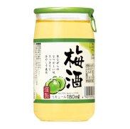 梅酒180ml/1本の商品画像