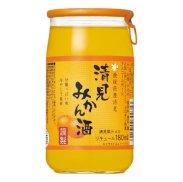 愛媛県産清見みかん酒180ml/1本の商品画像