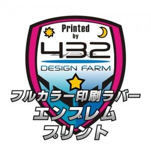 フルカラー印刷ラバーエンブレムプリント