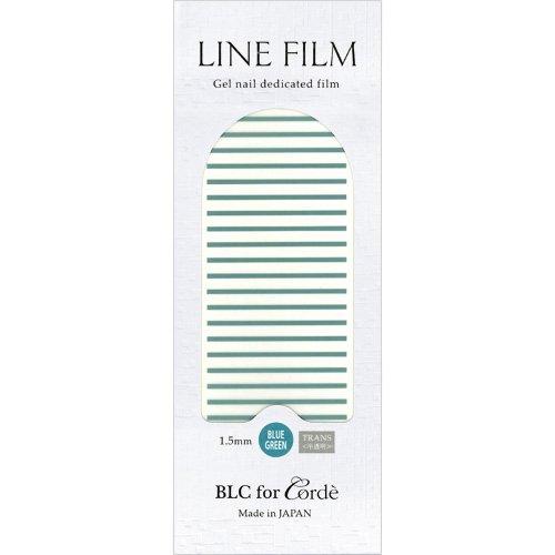 BLC for CORDE ラインフィルム 1.5mm×40mm 21本 ブルーグリーン(不透明)