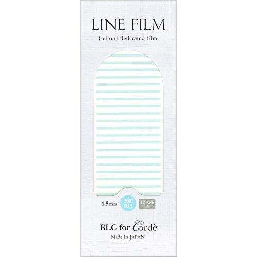 BLC for CORDE ラインフィルム 1.5mm×40mm 21本 ライトブルー(不透明)