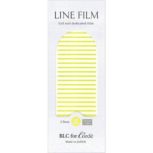 BLC for CORDE ラインフィルム 1.5mm×40mm 21本 ライムグリーン(不透明)