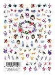 ネイルシール TSUMEKIRA ツメキラ NN-VIW-101 Vicky Wu プロデュース1 Spring flower paradise