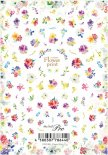 ネイルシール Sha-Nail Pro 写ネイルPro FRNT-001 Flower Print / フラワー プリント