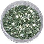 SHAREYDVA シャレドワ シェル 貝殻 クラッシュシェル メタルシェルフレーク 4g グリーン