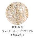 LEAFGEL リーフジェル カラージェル 4g 314 リュミエール・アブゥグラント 眩い光