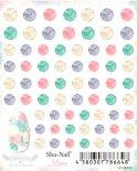 ネイルシール Sha-Nail More 写ネイルモア MBOD-001 Boa Dots Pastel / ボア ドッツ パステル