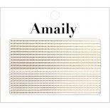 ネイルシール Amaily アメイリー No.5-19 飾りライン ゴールド