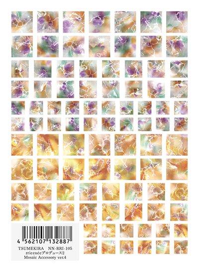 ネイルシール TSUMEKIRA ツメキラ NN-RRI-105 ガーラコレクション rrieeneeプロデュース2 Mosaic Accessory ver.4