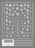 ネイルシール TSUMEKIRA ツメキラ NN-WEM-101 白糸刺繍