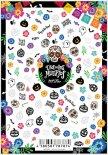 ネイルシール Sha-Nail Pro 写ネイルPro S&P-001 Skull&Pumpkin / スカル&パンプキン