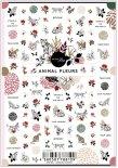 ネイルシール Sha-Nail Pro 写ネイルPro ANF-001 ANIMAL FLEURS / アニマーラ フルール