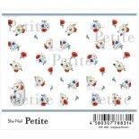 ネイルシール Sha-Nail Petite 写ネイル プチ PET-008 Graphical Flowers / グラフィカル フラワーズ