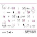 ネイルシール Sha-Nail Petite 写ネイル プチ PET-010 Cat / キャット