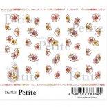 ネイルシール Sha-Nail Petite 写ネイル プチ PET-011 Line Art Flowers / ライン アート フラワーズ