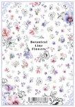 ネイルシール Sha-Nail Pro 写ネイルPro BLF-001 Botanical Line Flowers / ボタニカル ライン フラワー