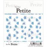 ネイルシール Sha-Nail Petite 写ネイル プチ PET-014 Water color Snowflakes (Blue) / ウォーターカラースノーフレーク (ブルー)