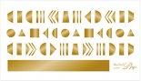 ネイルシール Sha-Nail Pro PLUS 写ネイルPro プラス SAORI-PG flicka parts gold / フリッカパーツ ゴールド