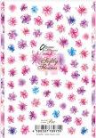 ネイルシール Sha-Nail Pro 写ネイルPro RUMI-001 Softly Flowers -color- / ソフトリィ フラワーズ カラー