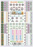 ネイルシール Sha-Nail Pro 写ネイルPro MOE-001 Mosque Ethnic / モスク エスニック