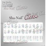 ネイルシール Charm SHA-NAIL チャーム 写ネイル CH-002m STARLIGHT SHELL [M] / スターライトシェル [M]