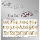 ネイルシール Charm SHA-NAIL チャーム 写ネイル CH-003bl STARLIGHT STONE Beige  [L] / スターライトストーン ベージュ [L]