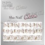 ネイルシール Charm SHA-NAIL チャーム 写ネイル CH-003gl STARLIGHT STONE Grege [L] / スターライトストーン グレージュ [L]