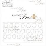ネイルシール Sha-Nail Pro PLUS 写ネイルPro プラス CUF-PWH Close-up Frame White / クローズアップ フレーム ホワイト